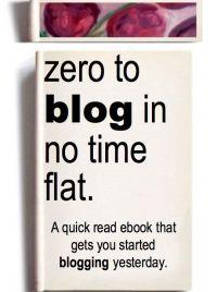 Buy the book Zero to Blog